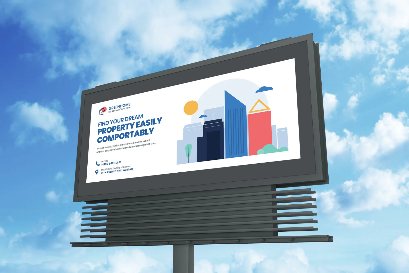 Screenshot 2021-06-16 at 06-05-42 Real Estate Billboard by iDoodle on Envato Elements