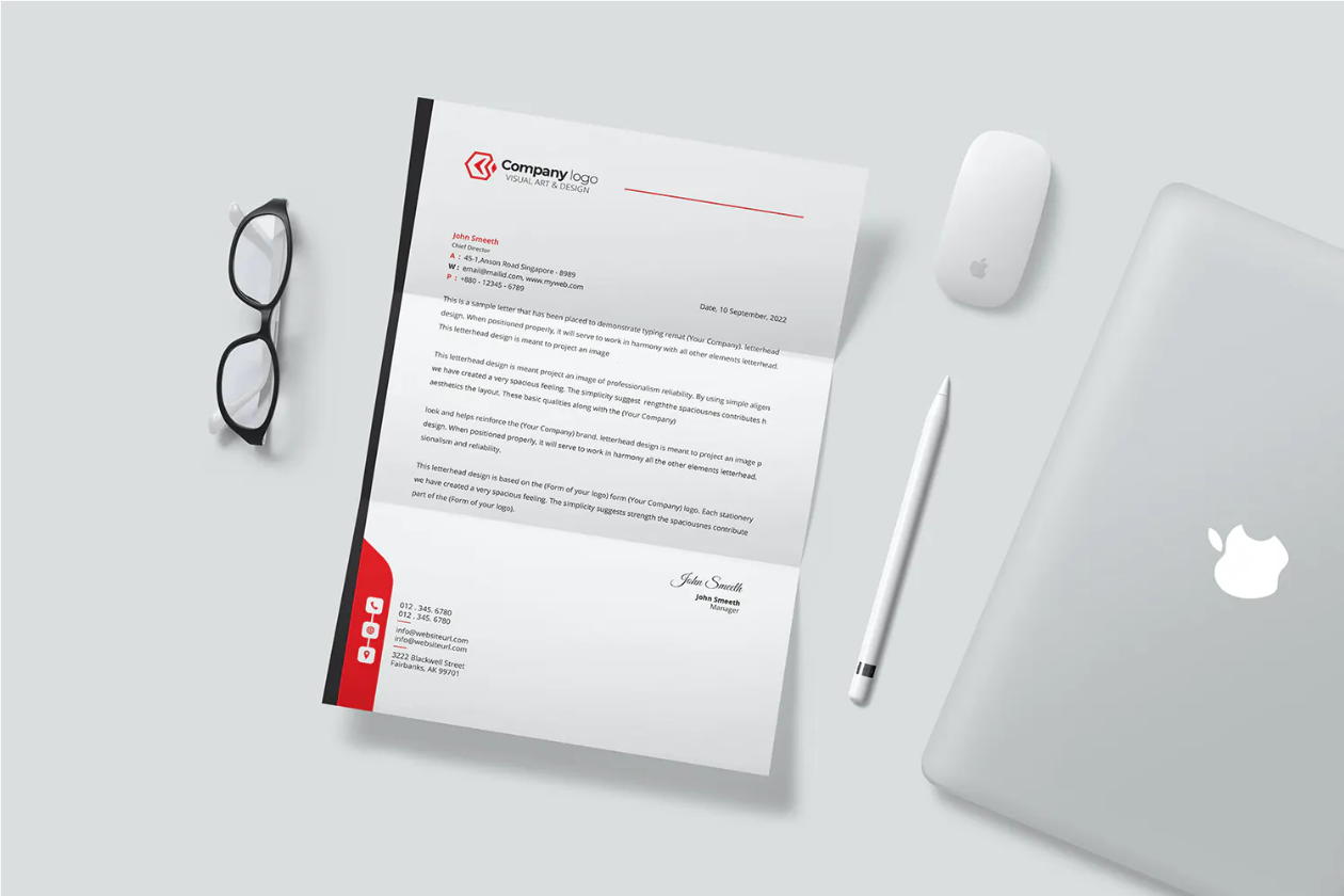 professional creative business card letterhead and stationery design services