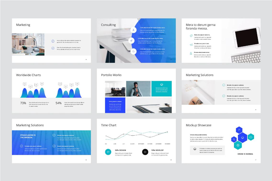 Microsoft PowerPoint Slide Professional Presentation Design Services